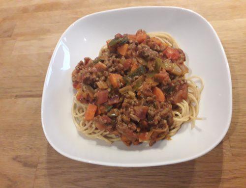 Gezonde spaghetti