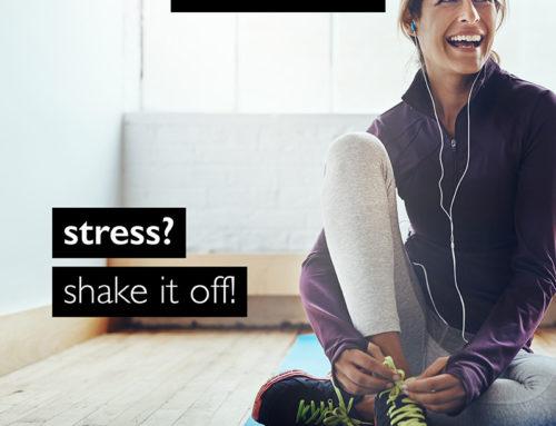 Stress voorkomen? Kom lekker sporten!